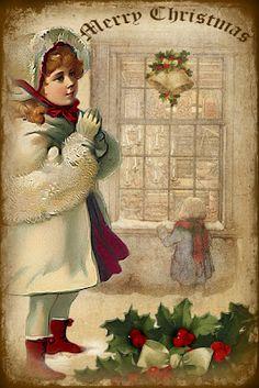 Victorian Christmas Tag 3