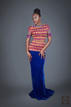 African print fashion dresses from Pistis- Ghanaian  designer  see more on ciaafrique.com