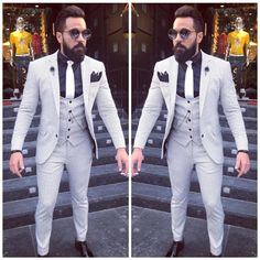 Designer white and blue dotted men five piece mens suit To inquire whatsapp 918888328116 or ethnicdiagmailcom Indian Wedding Clothes For Men, Mens Sherwani, Indian Groom Wear, Mens Fashion Blazer, Stylish Suit, Wedding Suits, Wedding Dresses, Cool Suits, Mens Suits