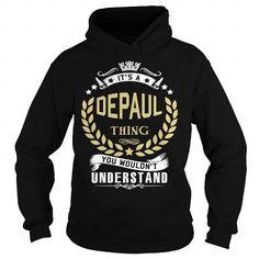 Depaul Its A Depaul ... T-Shirts Hoodie