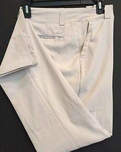 NEW! NIKE GOLF  WOMEN'S  Tan DRI-FIT Pants Style   SZ 2  27x32