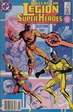 Cover for Tales of the Legion of Super-Heroes (1984 series) #335