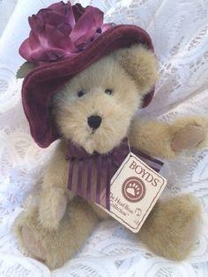 Boyds Bears Jeannine De Bearvoire Plush Hat Bear