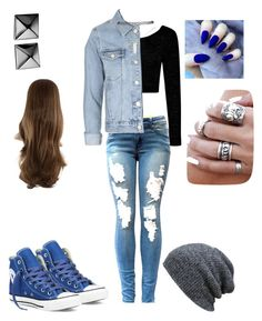 """""""Boyfriend girlfriend"""" by tiffanylcrowe on Polyvore featuring Boohoo, Converse, Topshop, Wet Seal and Waterford"""