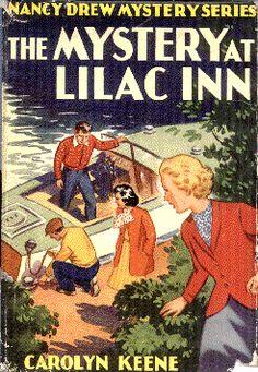 Nancy Drew: The Mystery at Lilac Inn Nancy Drew Mystery Stories, Nancy Drew Mysteries, Mystery Books, Mystery Series, Cozy Mysteries, I Love Books, Good Books, Books To Read, My Books