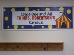 Welcome to my carnival classroom
