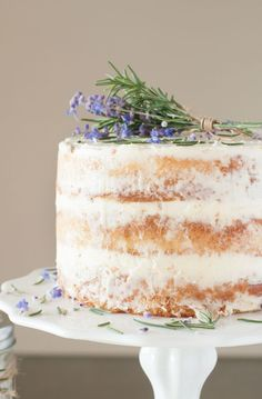 Lavender Rosemary Cake | Sprinkles for Breakfast