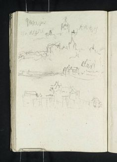 #Joseph Mallord William Turner - the sketchbook behind the master.