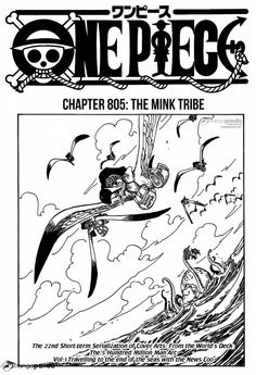 shintigercurl reacts to one piece, chapter 805: THE MINK TRIBE