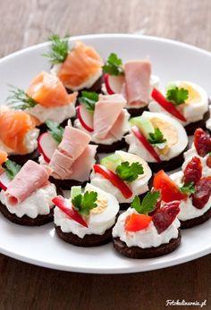 50 ідей святкового оформлення закусок та канапе | Ідеї декору