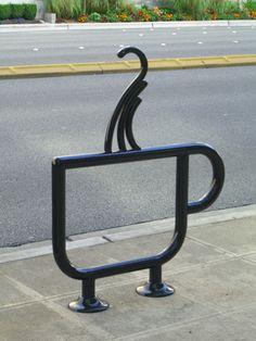 coffee bike rack