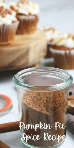 This Pumpkin Pie Spice recipe is perfect for fall desserts, breads, muffins and pies. Easy to make yourself.