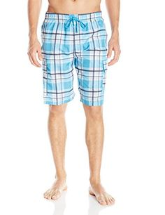 940c33521f Introducing US Polo Assn Mens Large Plaid Cargo Shorts Surf Blue XXLarge.  Great product and