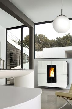 75 Fantastiche Immagini Su Stufa Pellet Design Fire Places Range