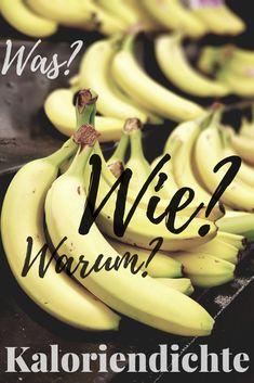 Wusstest du, dass es wirklich Lebensmittel gibt, die dich beim Abnehmen hilfreich sein können? Es handelt sich dabei um Nahrung mit geringer Kaloriendichte (Energiedichte). Die Kaloriendichte beschreibt ...  #abnehmtipps Banana, Fruit, Food, Energy Density, Poet, Losing Weight, Food Food, Essen, Bananas