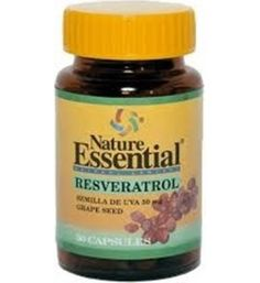 50 cápsulas de Semilla de Uva - Resveratrol 50mg. Antioxidante, longevidad, mejora de la capacidad física y colesterol El resveratrol es una molécula sorprendente que nos puede ayudar vivir más tiempo disfrutando de una vida más saludable. Es un alto generador de energía que estimula la producción de anti-oxidantes en el cuerpo.