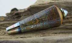 Alive Glass   Sandstone / Triton Pendulum by aliveglass on Etsy, $215.00