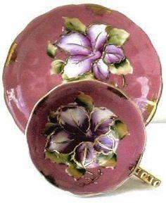 Vintage Tea Cups - Tea Pots- Tea Sets Vintage HP China Teacup Antiques & Collectibles