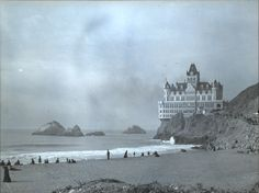Seal Rocks and the Cliff House, Ocean Beach, San Francisco, c1910