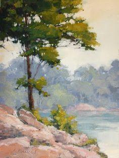 Laurel Daniels landscapes - so lovely