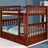 Found it at Wayfair - Weston Full over Full Bunk Bed with Built-In Ladder and Optional Storage $694.14