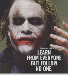 23 Joker quotes that will make you love him more (notitle) Joker Love Quotes, Joker Qoutes, Badass Quotes, Heath Ledger Joker Quotes, Joker Heath, Inspiring Quotes About Life, Inspirational Quotes, Motivational, Twisted Quotes