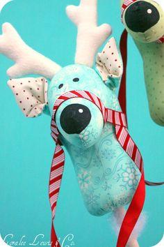 reindeer stick horse