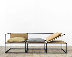 The 2017 Hot List, Part IV Sight Unseen is part of Furniture design modern - Get to know our fourth set of 2017 American Design Hot List honorees here Home Studios, Kin & Company, NUN and Office GA Iron Furniture, Steel Furniture, Home Office Furniture, Sofa Furniture, Cheap Furniture, Industrial Furniture, Pallet Furniture, Rustic Furniture, Furniture Sets