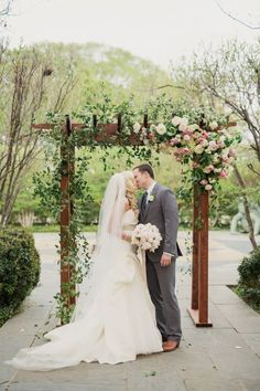 Dreamy + Romantic Dallas Garden Wedding in Shades of Pink