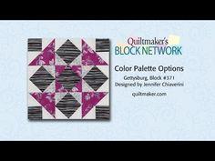 Color Palette Options - YouTube Gettysburg Block Super Beispiele für Farbharmonien!!!!!