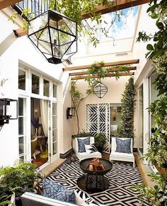 "9,010 Likes, 132 Comments - Cecelia (@thewelldressedhouse) on Instagram: ""A fabulous outdoor space!....Tag your bestie!.... credit: @hgdstudio . . . . .…"""