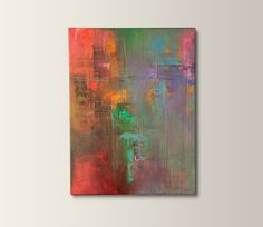ARTFINDER: 'Blurred World by Dan Nash Gottfried - Original acrylic, abstract painting created on canvas.