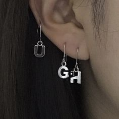 25 Ideas piercing oreille grunge for 2019 Cute Jewelry, Jewelry Accessories, Cheap Jewelry, Jewelry Shop, Funky Jewelry, Luxury Jewelry, Women Accessories, Mode Vintage, Heart Pendant Necklace