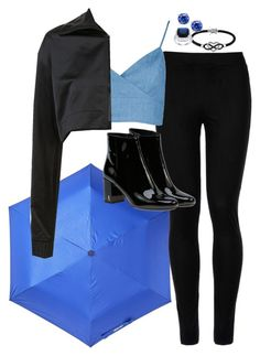 """""""•💧•"""" by dngrsw on Polyvore featuring moda, Steve Madden, Wolford, Puma, Yves Saint Laurent, Jewel Exclusive, Kate Bissett e Giani Bernini"""