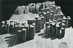 """A City Made of Rooms : The """"Neue Stadt"""" of Köln (1961-1964) by O.M. Ungers…"""