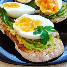 Eggs and avocado toast #healthy #fit #food #eggs #avocado