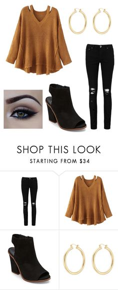 """""""warm but cute"""" by carolinamash on Polyvore featuring Boohoo, WithChic, Steve Madden and Isabel Marant"""