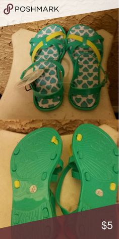 girls duo colored sandals girls duo colored sandals sz 11 Shoes Sandals & Flip Flops