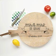 Hoe gaaf is deze!! Ook leuk om in de keuken te gebruiken na je bruiloft. Deze shop je bij wearegolden.nl