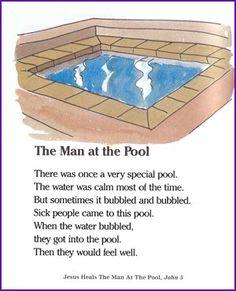 Jesus Heals the Man at the Pool (Story) – Kids Korner – BibleWise