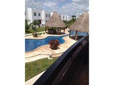 Fotos de Departamento de 2 recamaras en villa maya alberca y seg 24h,con increibles áreas verdes, palapas, área de fiestas, alberca, primer piso, balcón área de lavado, se vende completamente amueblado y equipado, listo para cambiarse