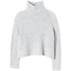 Rebecca Taylor Fluff Pullover Sweater found on Polyvore