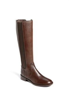 Love! Leather Riding Boot by Tory Burch