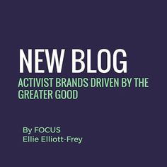 The final post in our Greater Good series delves beyond the impact of creating one socially responsible campaign, and looks deeper into brands that aren't just socially responsible; they have put activism at the core of their business strategy.  Link in bio 👀  .  .  .  .#focuspr #greatergood #activism #environment #protecttheearth #thewornwearprogramme #recycle #patagonia #thirstaid #fairtradecolanut #karmacolafoundation #brandsforthegreatergood #sociallyresponsible
