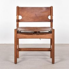 Mid-Century Model 3251 Hunting Chair by Børge Mogensen for Fredericia Furniture for sale at Pamono