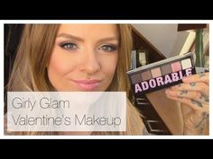 Girly Glam Valentine's Day Makeup Tutorial ft. NYX Adorable Palette- Rhi...