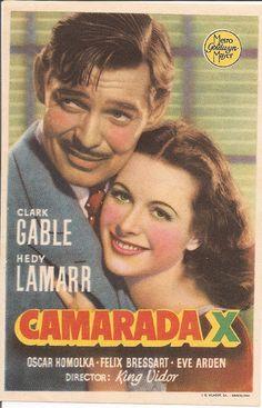 Programa de Cine - Camarada X