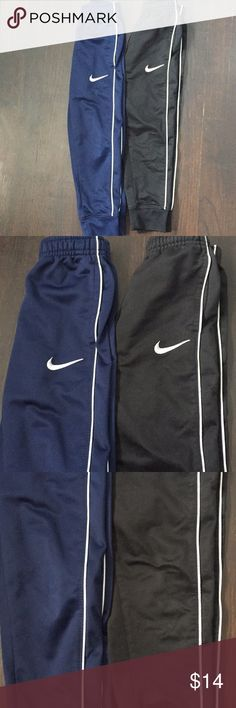 Boys Nike joggers Both are good used condition. Nike Bottoms Sweatpants & Joggers