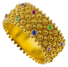 Unique handmade luxurious Sardinian gold and silver jewellery by Sardinian artisans age-old filigree style of Sardinia Jewelery, Silver Jewelry, Fine Jewelry, Unique Jewelry, Gold Filigree, 18k Gold, Ears Of Corn, Swarovski Bracelet, Touch Of Gold