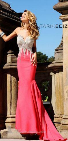Tarik Ediz - not a big dress fan. But this is pretty..